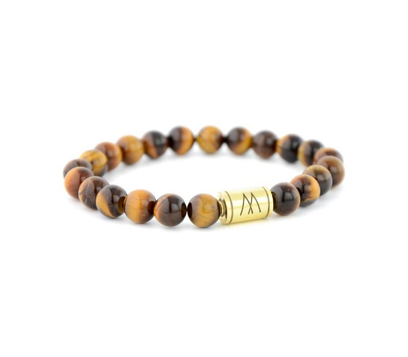 PETITE GOLD BROWN TIGER EYE