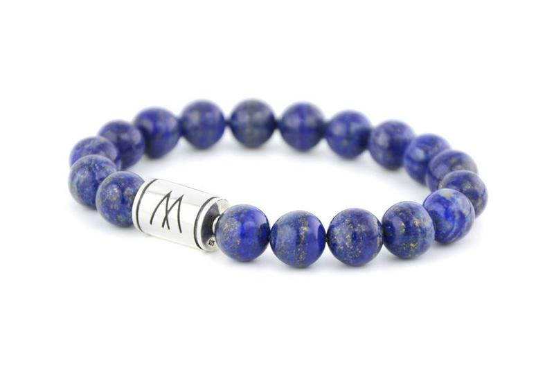 Blue Bracelet - Silver Lapis Lazuli