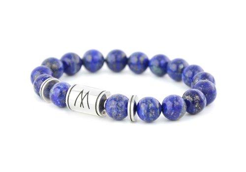 Prestige Blue Bracelet - Twin Silver Lapis Lazuli