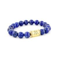 Blue Bracelet - Gold Lapis Lazuli