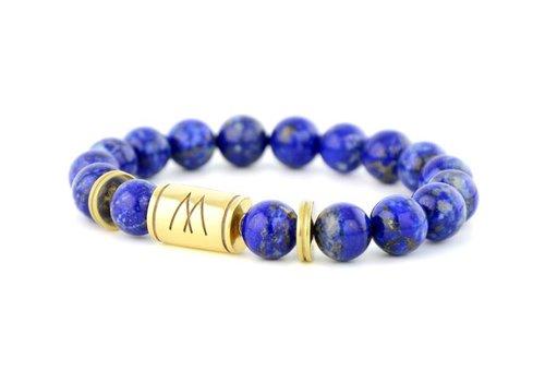 Prestige Blue Bracelet - Twin Gold Lapis Lazuli