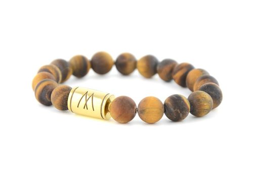 GRAND GOLD MATT BROWN TIGER EYE