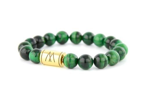 GRAND GOLD GREEN TIGER EYE