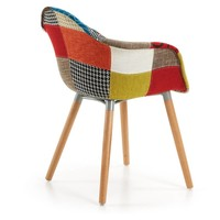 Kenna Patchwork Stoel