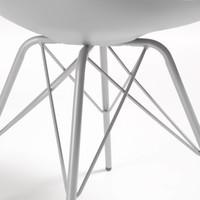 Lars stoel metaal grijs - La Forma