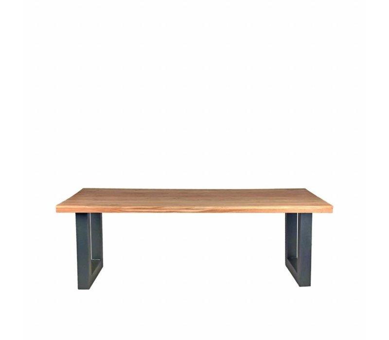Eettafel Milaan 200x95x76 cm