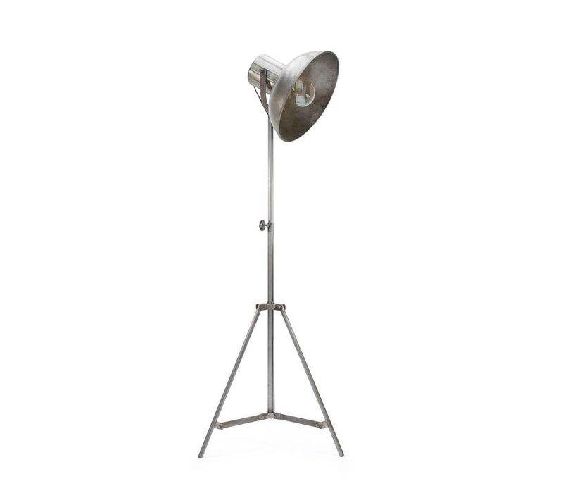 Industriële vloerlamp Factory Raw Iron