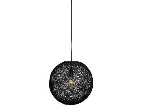 LABEL51 Hanglamp Twist 60 cm Zwart