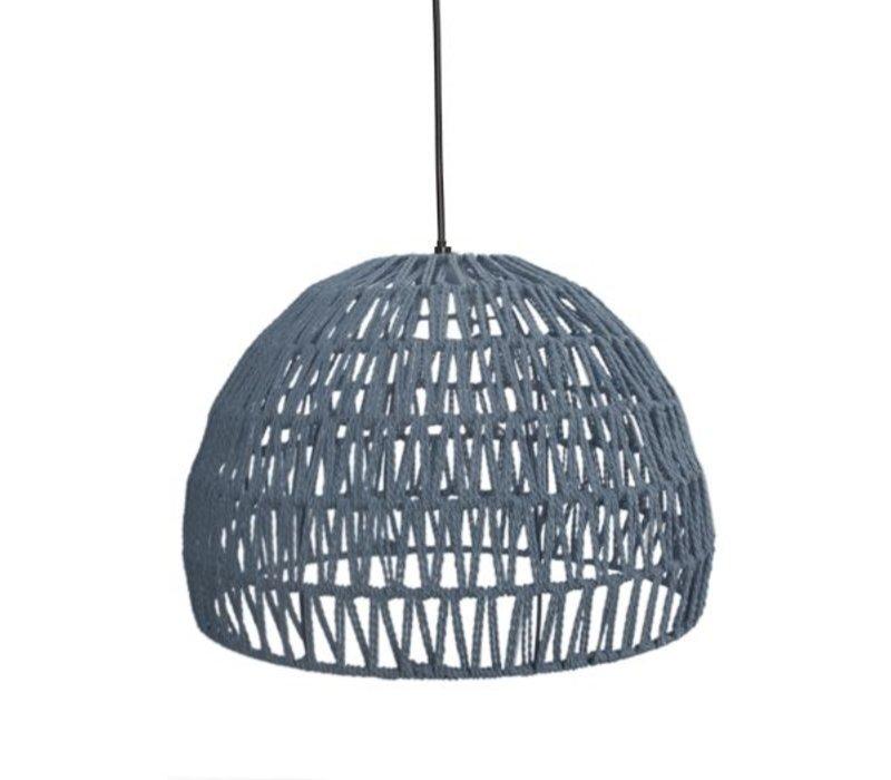 Hanglamp Touw Medium Lichtgrijs