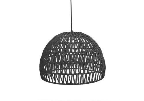 LABEL51 Hanglamp Touw Groot Zwart