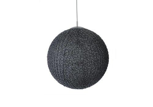 LABEL51 Hanglamp Cotton Zwart 30 cm