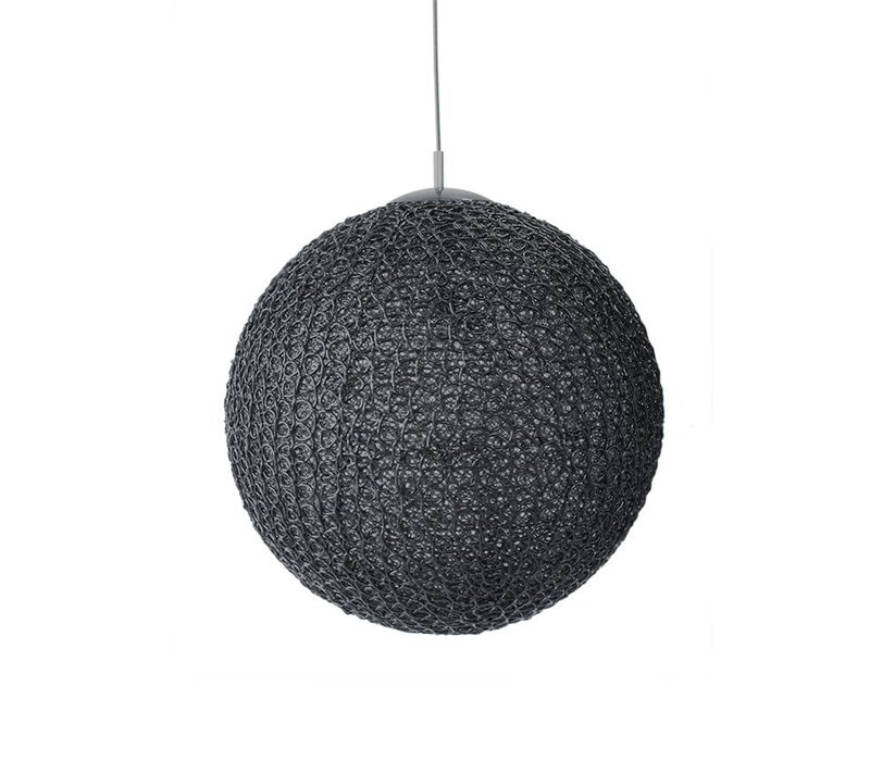 Hanglamp Cotton Zwart 30 cm
