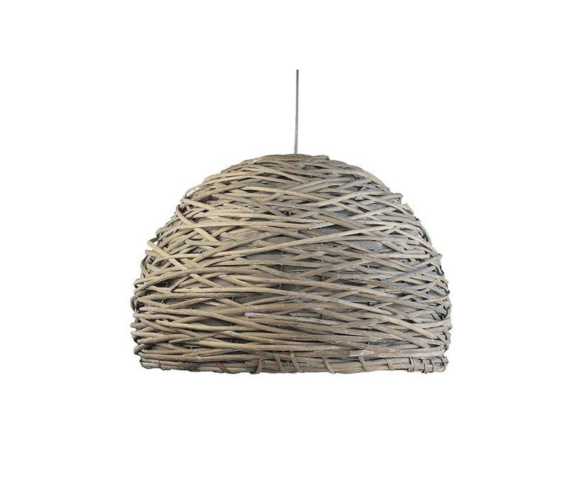 Lampenkap Riet Crazy Weaving -  55 cm