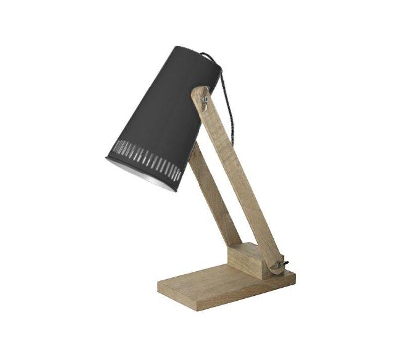 Tafellamp Retro - Zwart