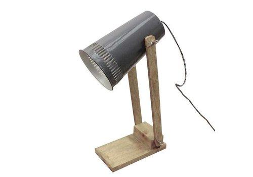 LABEL51 Tafellamp Retro - Donker grijs