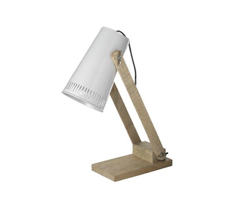 Tafellamp Retro - Wit