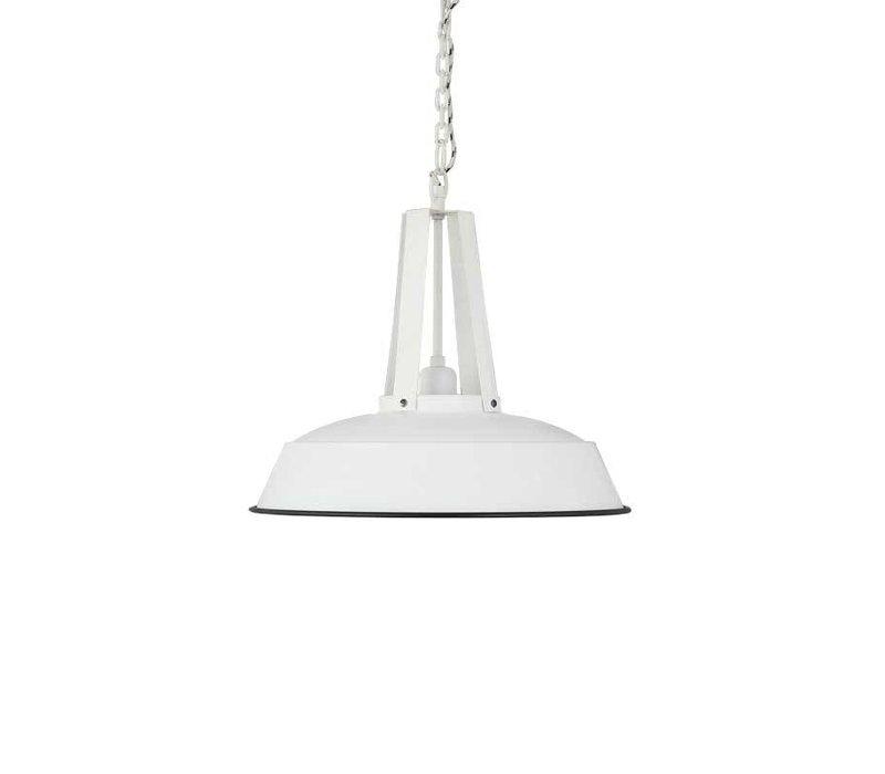 Hanglamp Worker Mat Wit