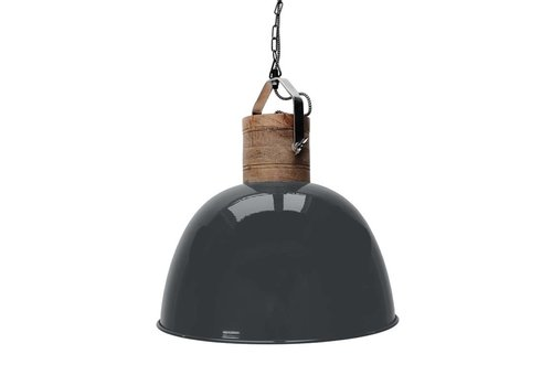 LABEL51 Hanglamp Nordic Donkergrijs L