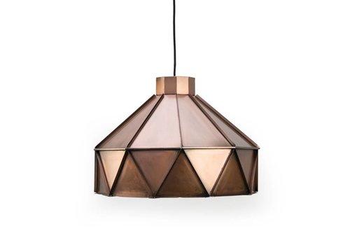 LABEL51 Hanglamp Triangle Antiek Koper