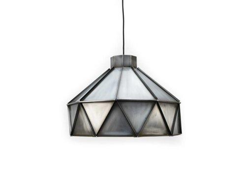 LABEL51 Hanglamp Triangle Antiek Zink
