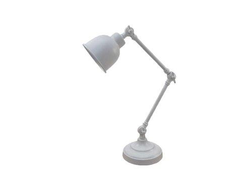 LABEL51 Tafellamp Office Retro - Mat Wit