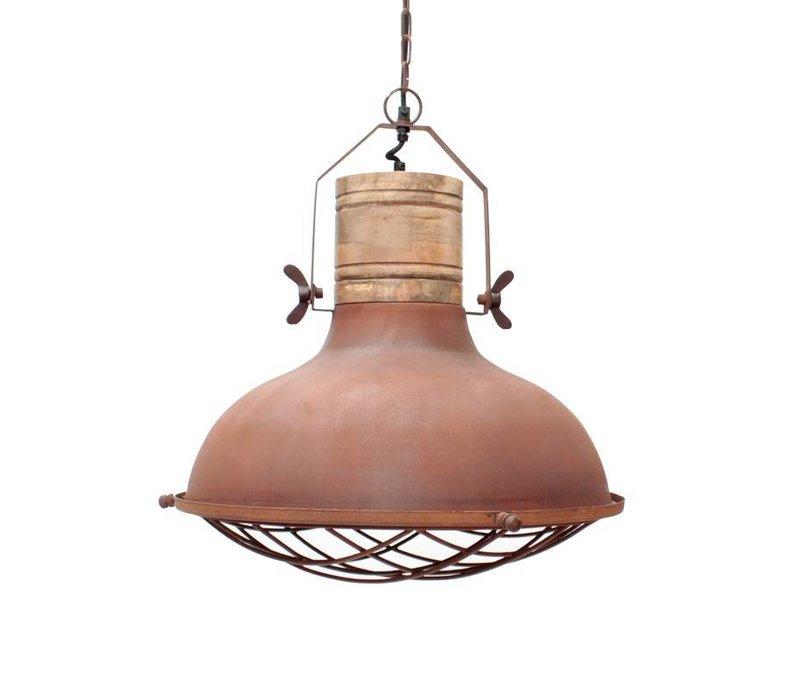 Hanglamp Grid Rust