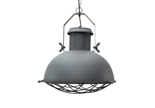 LABEL51 Hanglamp Grid Antiek Grijs 46cm