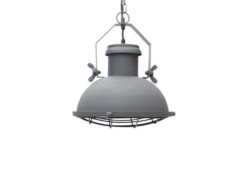 LABEL51 Hanglamp Grid Antiek Grijs 30cm