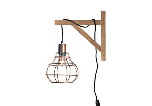 LABEL51 Wandlamp Drop Koper