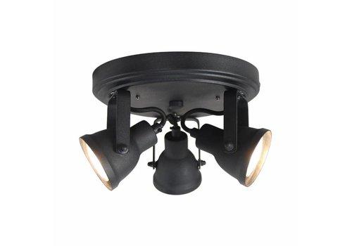 LABEL51 LED Spot Max 3-lichts Zwart