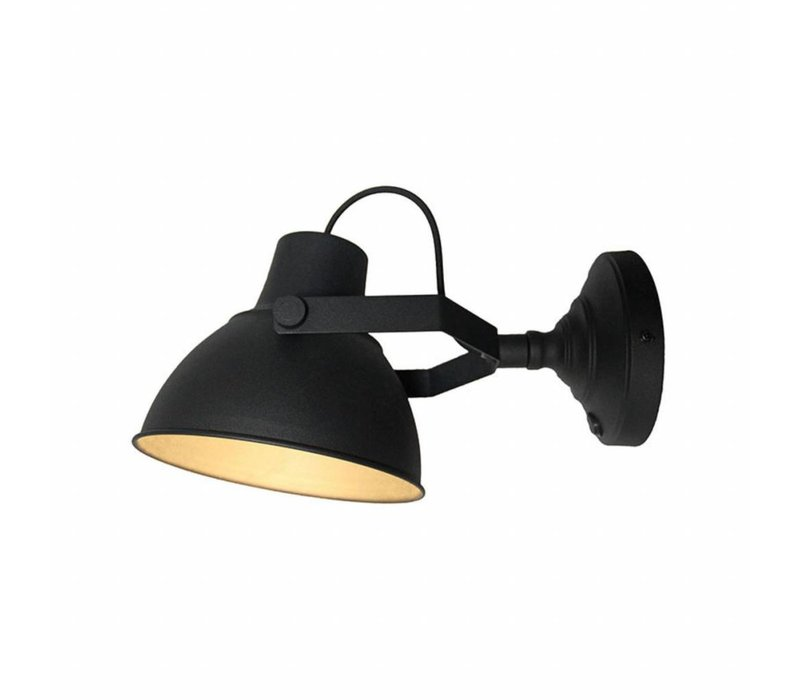 Wandlamp Raw XL Zwart