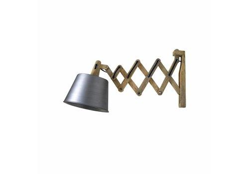 LABEL51 Wandlamp Harmonica Antiek Grijs