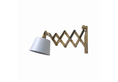 LABEL51 Wandlamp Harmonica Mat Wit