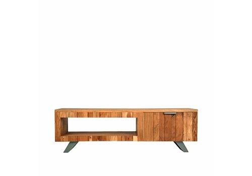 LABEL51 Tv-meubel Milaan 156x45x48 cm