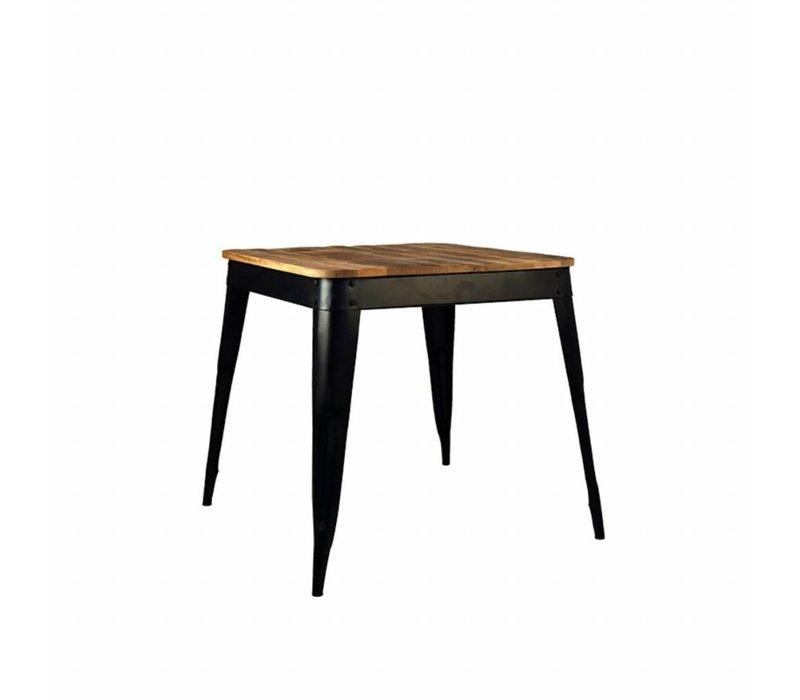 Eettafel Luik 75x75x75 cm