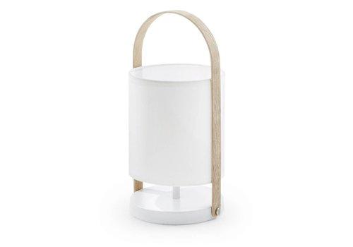 LaForma ZAYLA Tafellamp wit