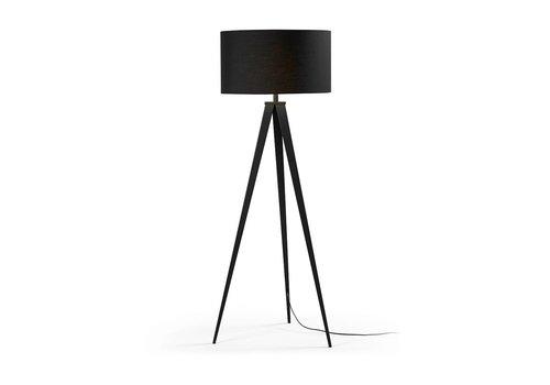 LaForma UZAGI Vloerlamp Driepoot Zwart