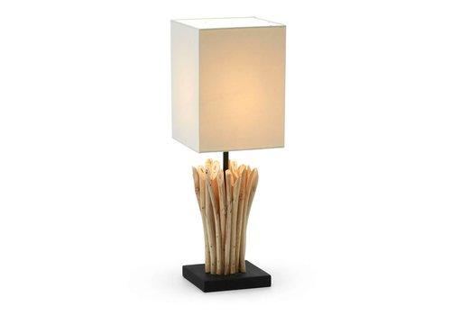 LaForma POOB Tafellamp Tropisch Hardhout