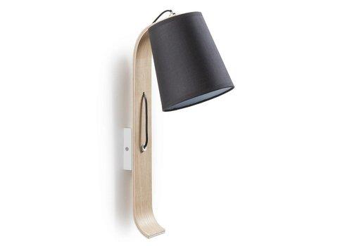 LaForma PERCY Wandlamp Zwart