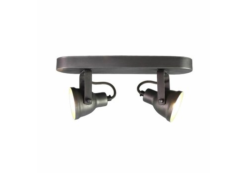 LABEL51 LED Spot Max 2-lichts Burned Steel