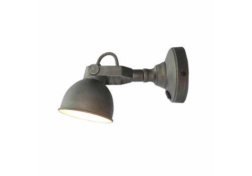LABEL51 LED Wandlamp Bow M Burned Steel