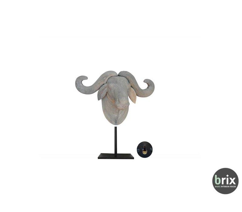 Bull Small Grijs