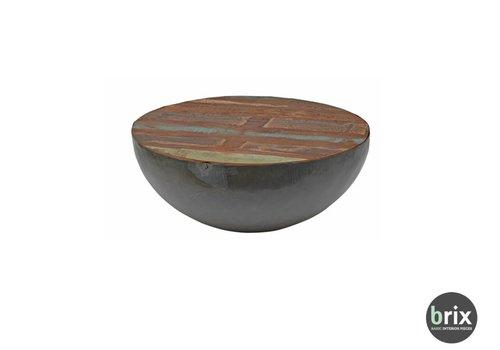 Brix Kurt Bowl Salontafel 80cm - Zwart