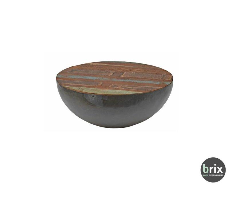 Kurt Bowl Salontafel 80cm - Zwart