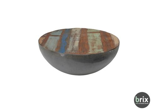 Brix Kurt Bowl Salontafel 90cm - Zwart