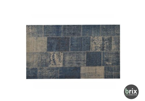 Brix Vloerkleed Patty Denim 170x240cm