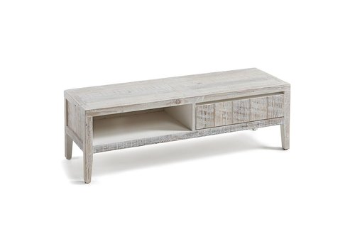 LaForma WOODY TV Meubel 120x38 White Wash