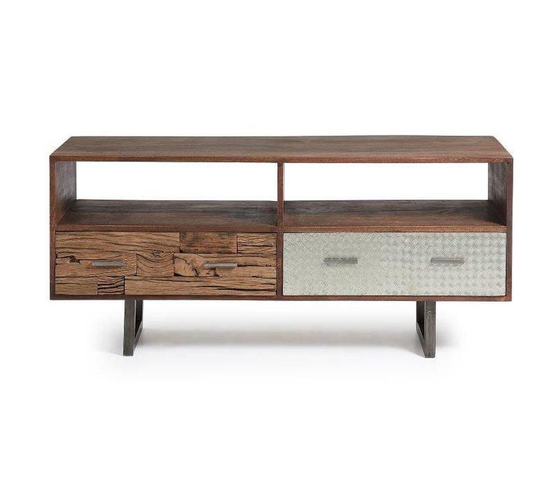 LOFT Tv cabinet 140x62 Mango Hout