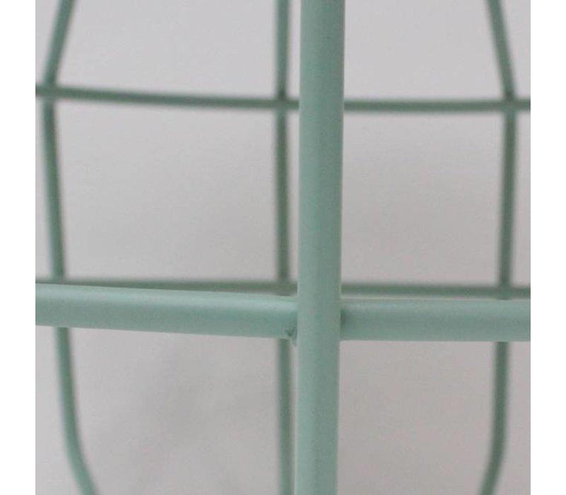 Bijzettafel Pixel Mint 50 cm