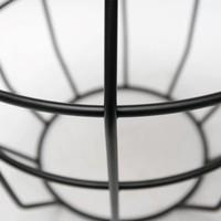 Bijzettafel Pixel Zwart 40 cm